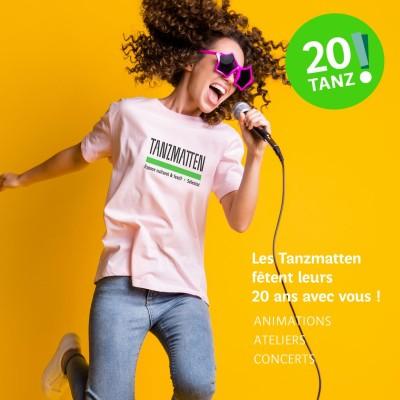 20 ANS DES TANZMATTEN - SAMEDI 18 SEPTEMBRE 2021 cover