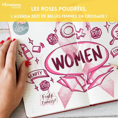 PODCAST 131 - Les Roses Poudrées, l'agenda 2021 de belles femmes en croisade ! cover