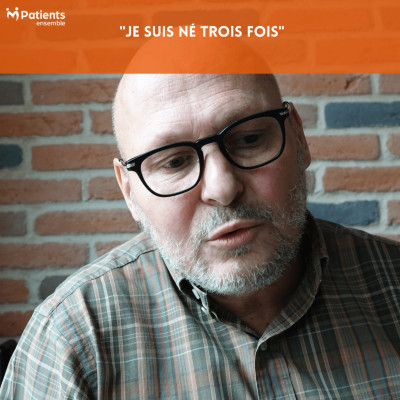 """PODCAST 96 - """"Je suis né trois fois"""" cover"""