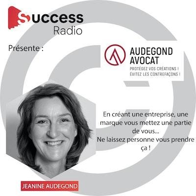 Jeanine Audegond créatrice Audegond Avocat cover