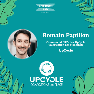 Tri et valorisation des biodéchets en local - Romain Papillon - Upcycle cover