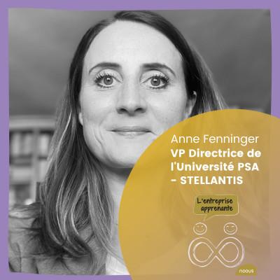 #01 Anne Fenninger : « Comprendre sa learning culture et pouvoir se transformer » cover