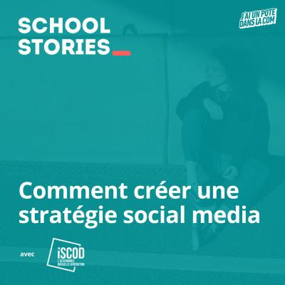 Comment créer une stratégie social media - ISCOD cover