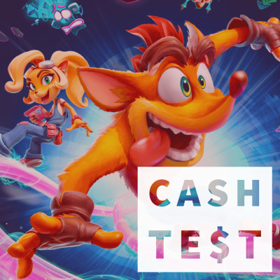 CA$H TEST - Crash Bandicoot 4 It's About Time - C'est dans les vieux pots qu'on fait les meilleures confitures cover