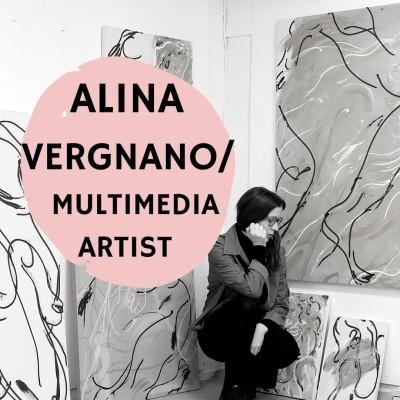#7 - Alina Vergnano - Multimedia Artist cover
