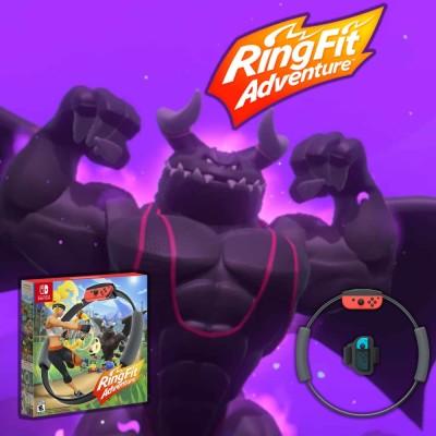Ring Fit Adventure : le meilleur jeu vidéo sportif de la Nintendo Switch ? cover
