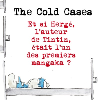 Et si Hergé, l'auteur de Tintin était l'un des premiers mangaka? cover