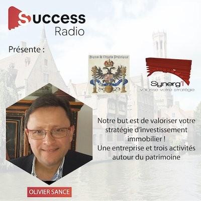 Olivier Sance - Synerg'i cover
