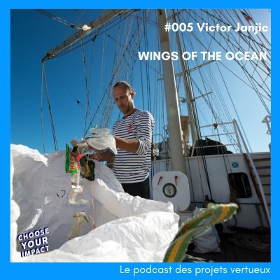 #005 Victor Janjic - WINGS OF THE OCEAN ou comment dépolluer les océans et sensibilisersur les conséquences des déchets plastiques en mer cover