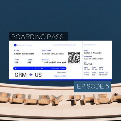 Boarding Pass 006 🏆Les Oscars avec Thomas Newman et Angelo Badalamenti cover