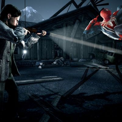 image Papa, à quoi tu joues ? - 62 - Alan Wake / Spiderman