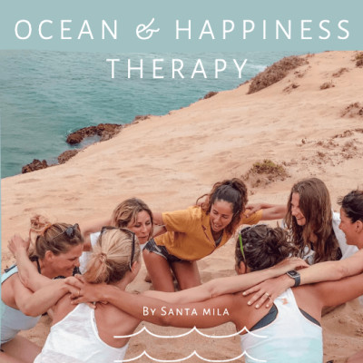 OCEAN & HAPPINESS THERAPY cover