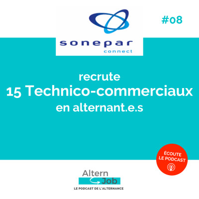 Marine VERNEREY, SONEPAR Connect - Ep08 cover