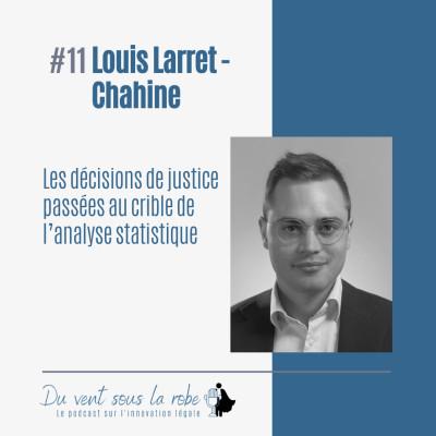 Louis Larret-Chahine - Les décisions de justice passées au crible de l'analyse statistique cover