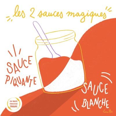 Deux sauces magiques ! cover