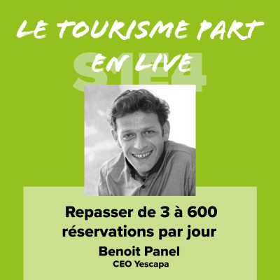 Benoit Panel - Repasser de 3 à 600 réservations par jour cover