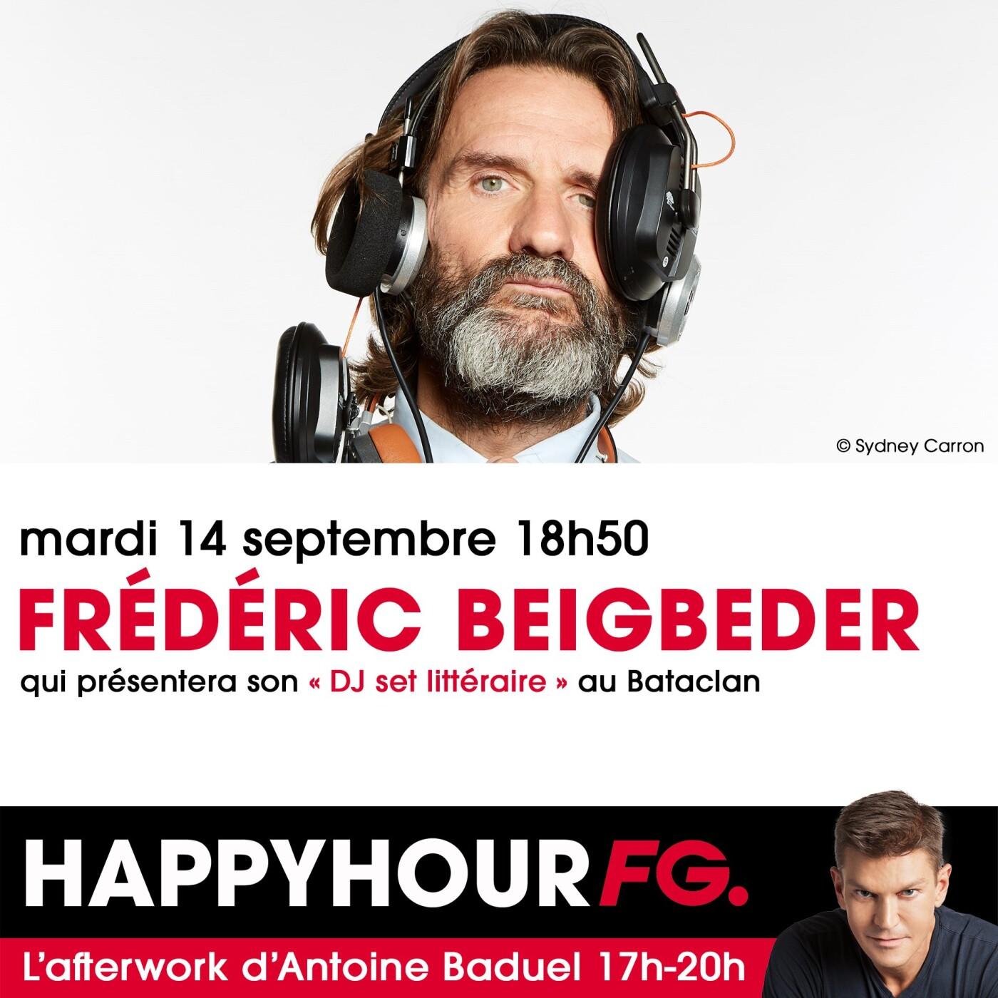 HAPPY HOUR INTERVIEW : FREDERIC BEIGBEDER