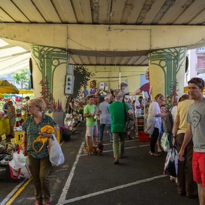 image Manuel Da Costa, au marché de l'estacade