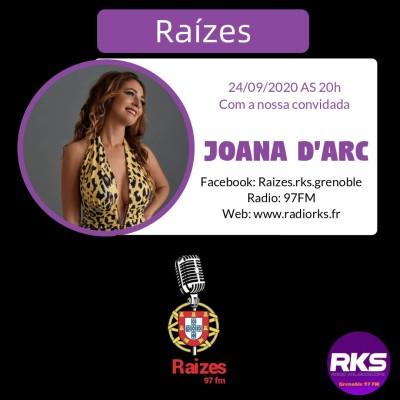 RAIZES - Emission du 24/09/2020 avec Joana d'Arc cover