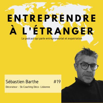 Entreprendre à l'étranger - Sébastien Barthe - Sb Coaching Deco - Lisbonne cover