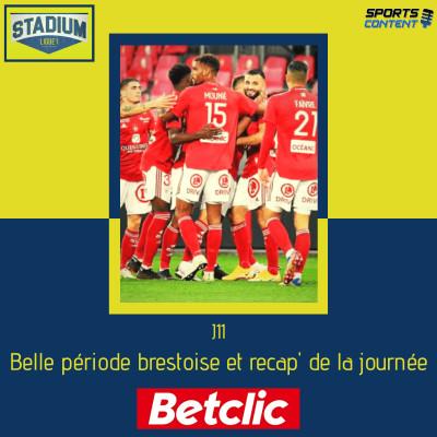 J11 : Stade Brestois, débrief, pépites de la journée et Betclic (avec @icicestbrest29) cover