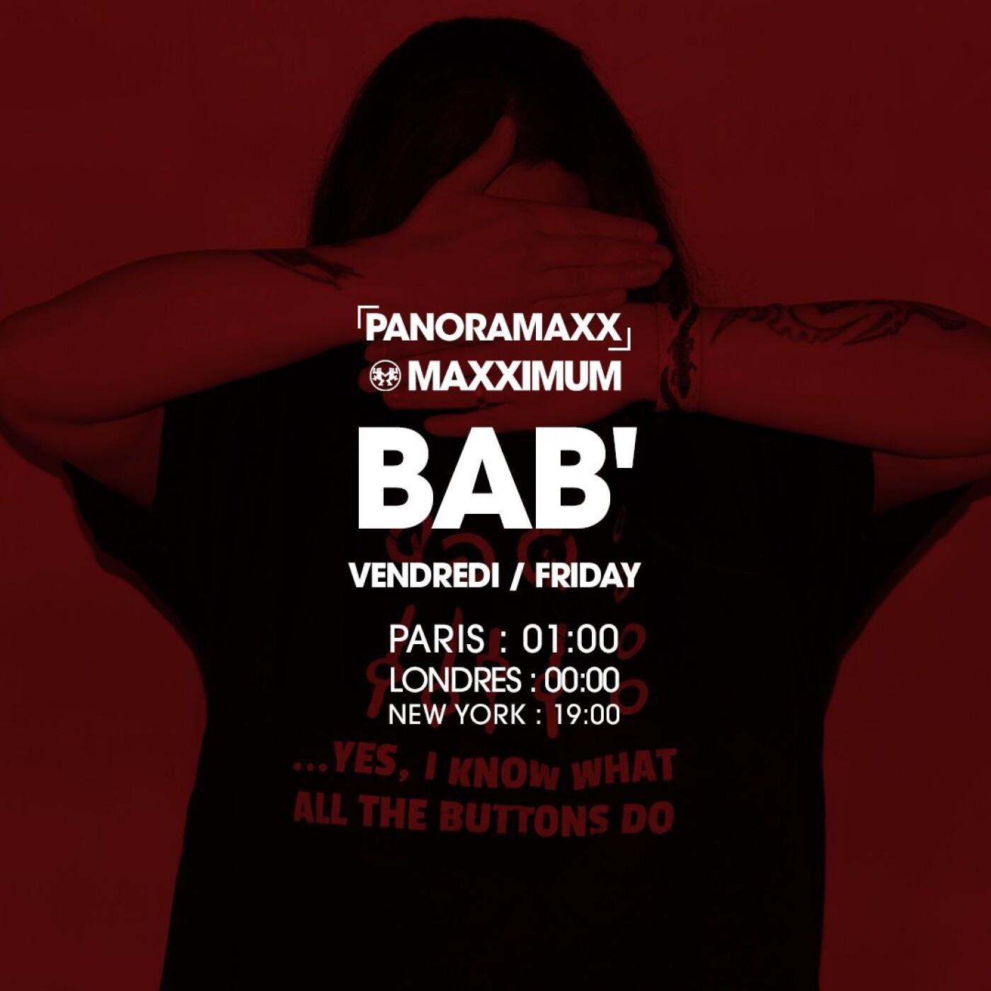 PANORAMAXX : BAB'