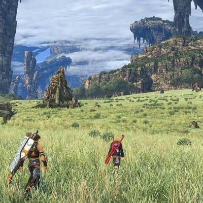 Xenoblade Chronicles, géant aux pixels d'argile cover