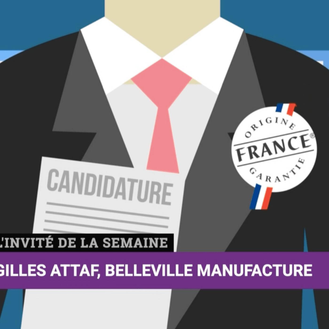 """Gilles Attaf """"Origine France Garantie"""""""
