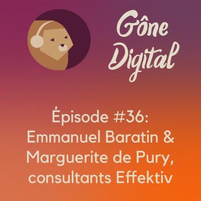Episode #36 - Emmanuel Baratin & Marguerite de Pury, consultants Effektiv cover