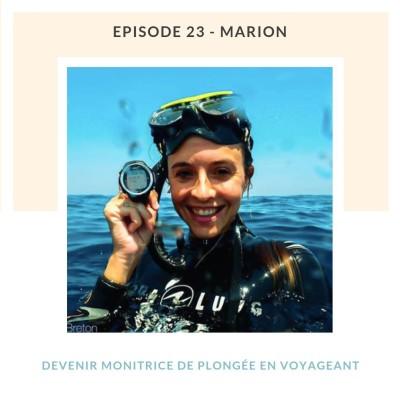 image #23 Marion, devenir monitrice de plongée en voyage