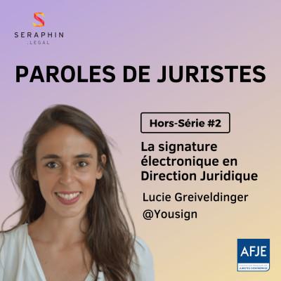 Hors-Série #2 - La signature électronique en Direction Juridique cover