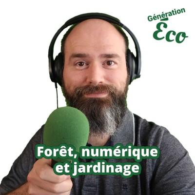 Forêt, numérique et jardinage cover