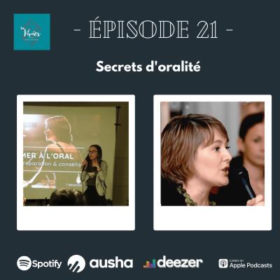 EP 21 - Secrets d'oralité cover