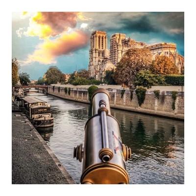 """#6 - S03/EP06 - """"Sous les ponts de Paris"""" cover"""