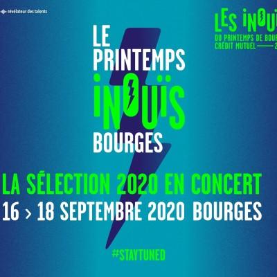 [FESTIVAL] Les Inouïs du Printemps de Bourges 2020 cover