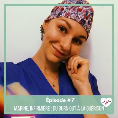 #7 : Marine, infirmière, du burn out à la guérison cover