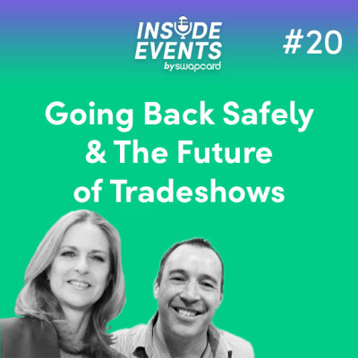 Going Back Safely & The Future of Tradeshows with Patty Olinger & Andy Johnston cover