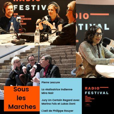 Pierre Lescure, Mira Nair, Marina Fois et Lukas Dhont - 15 mai 2019 cover