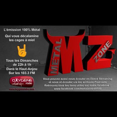 Emission METAL ZONE N° 881 du 21 Février 2021 Part 1 cover
