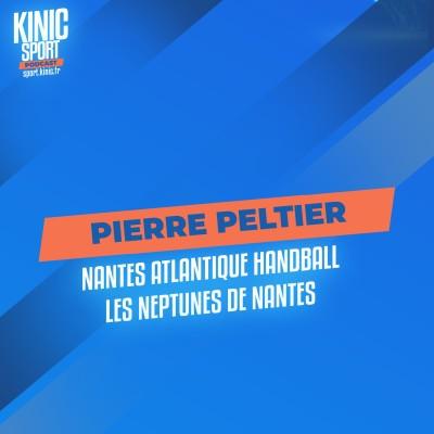 #22 - Pierre Peltier - Nantes Atlantique Handball / Les Neptunes de Nantes cover