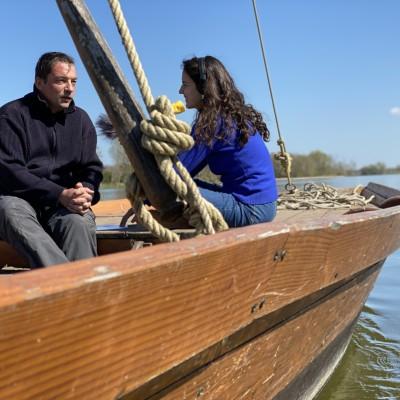 Les passeurs de Loire avec Jean-Philippe Vanlawe cover