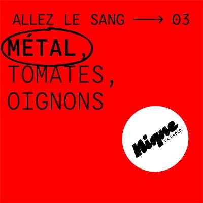 Métal, tomates, oignons cover