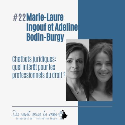 Marie-Laure Ingouf et Adeline Bodin-Burgy – Chatbots juridiques : quel intérêt pour les professionnels du droit ? cover