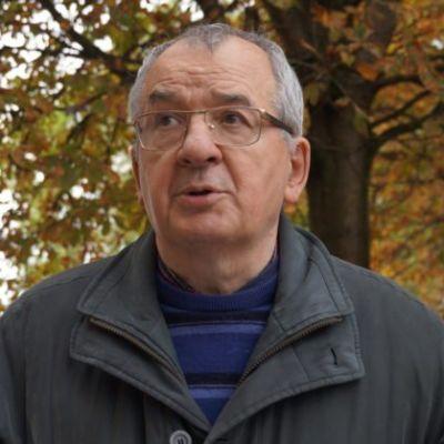 Avec Gérard Baumgart, militant pour l'hébergement des migrants cover