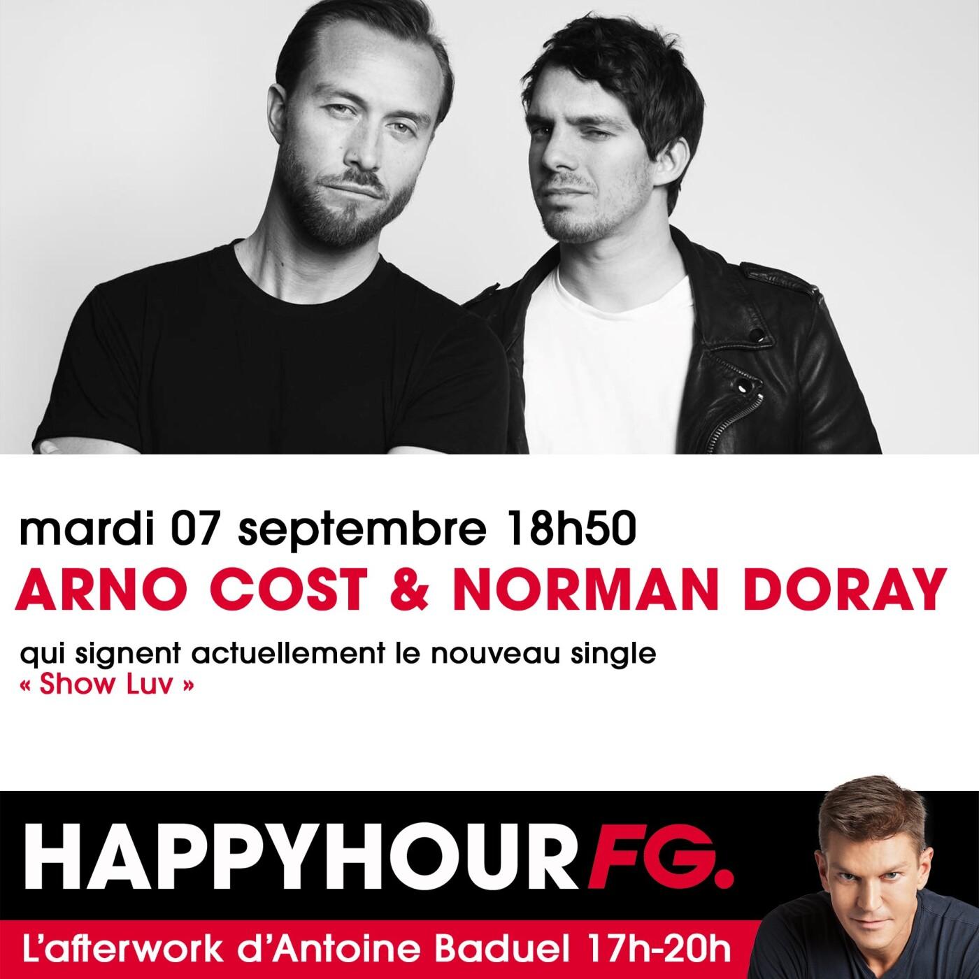 HAPPY HOUR INTERVIEW : ARNO COST & NORMAN DORAY