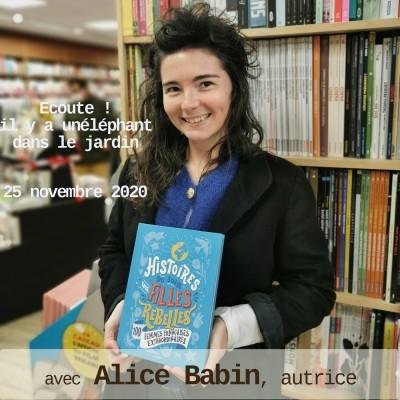 Alice Babin, autrice cover