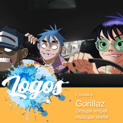 Gorillaz - Groupe virtuel, musique réelle cover