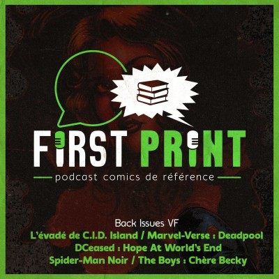 On lit The Boys : Chère Becky, DCeased Hope At World's End ou C.I.D. Island : quelques lectures du moment ! [Back Issues VF] cover