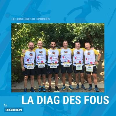 #2 Hors Série - Trail - Damien, Gaëtan et Nicolas - À la conquête de La Diagonale des Fous.... cover