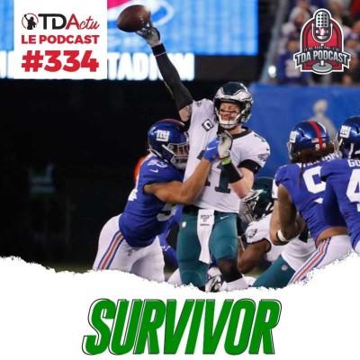 image TDA Podcast n°334 - Débrief S17 : le miracle Philadelphie, la fin du règne des Patriots ?